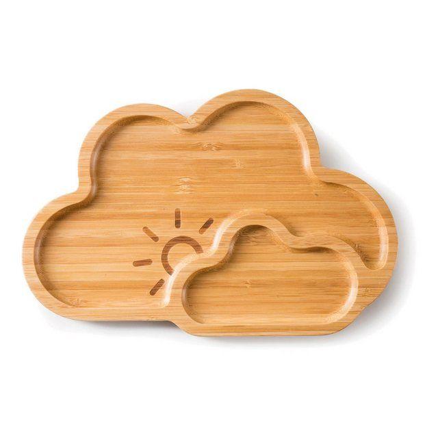 Teller Bamboo Plate Cloud Nine Bambus Lebensmittel Platten Und Brotzeit