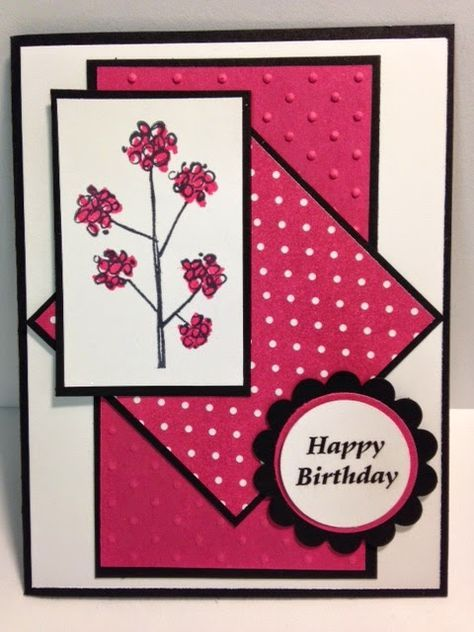 Mother's Love, Birthday Card, Stampin' Up!, Rubber Stamping, Handmade Cards