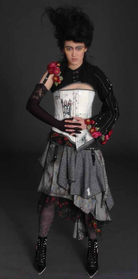 'Wild Rose'     Designed and made by Kirry Toose  Photographer Hamish Ta-me
