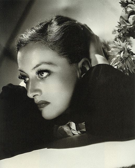 *JOAN CRAWFORD ~ Photograph taken by George Hurrell, 1935.