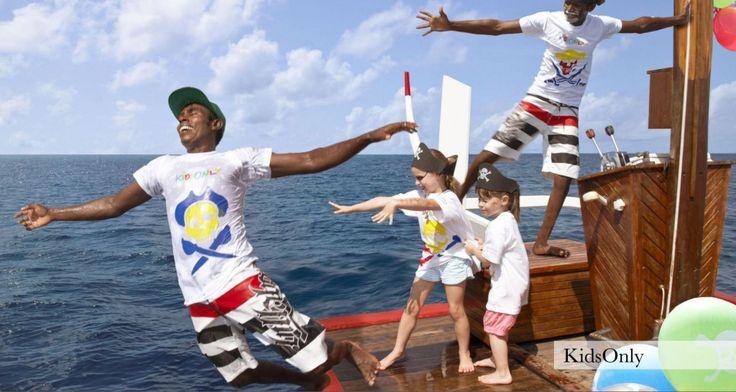 Kids fun at One & Only Reethi Rah resort in Maldives