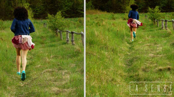 Forest#Dolina Radości#Gdańsk#run#girl