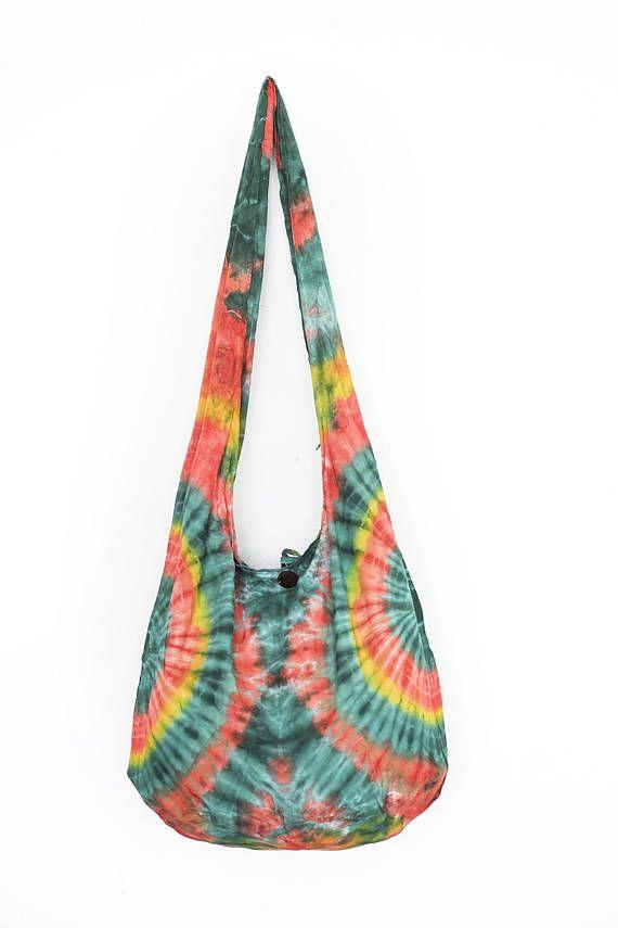 a0f360dd6891 Tie dye hand dyed shibori boho shoulder bag crossbody sling bag ...