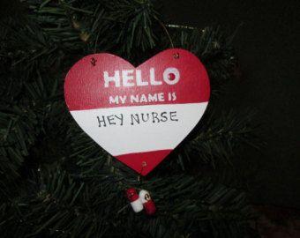 Nurse Ornament by putzigbaer on Etsy