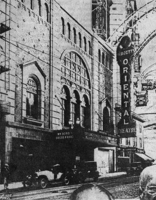 The old Oriental theater