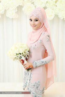 Fallin For You: Wed Preps : Design Baju Akad Nikah Nina