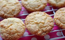These coconut biscuits are simple, tasty and easy on the budget. They are perfect for kids to cook and made from simple pantry ingredients.