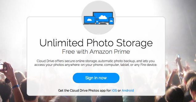 Amazon Prime Gets Even Better With Unlimited Online Photo Storage
