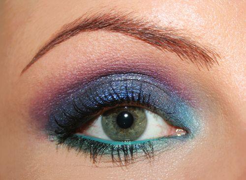 smokey eyes colorato