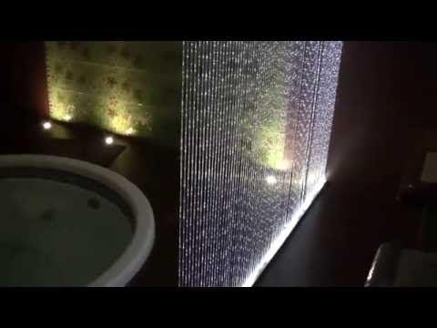 Zestaw Kurtyna Światłowodowa, dekoracje do SPA, basenu, sauny, realizacje wnętrz  www.e-technologia.pl