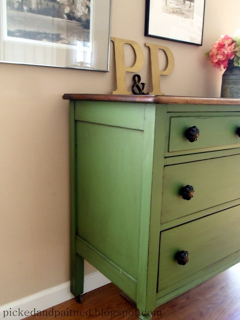 Cliveden Pasture by Valspar - love this color for a dresser in big brother's room!