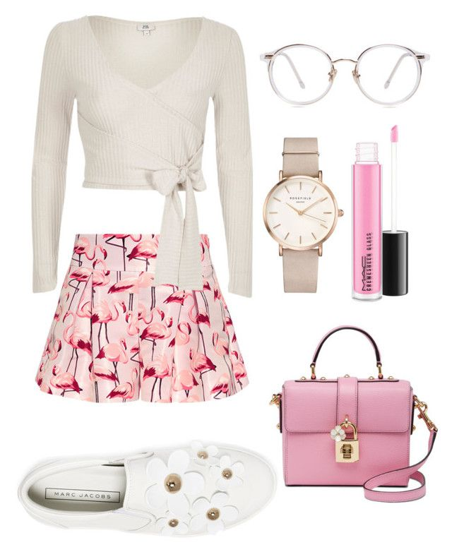 """Untitled #208"" by zsofi-szibilla on Polyvore featuring RED Valentino, Marc Jacobs, River Island, ROSEFIELD and Dolce&Gabbana"