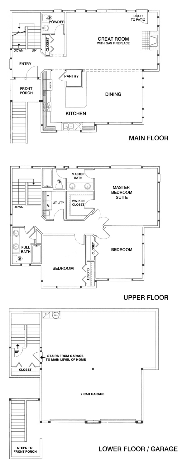 1000+ images about Floor Plans - New Homes in King ounty on ... - ^