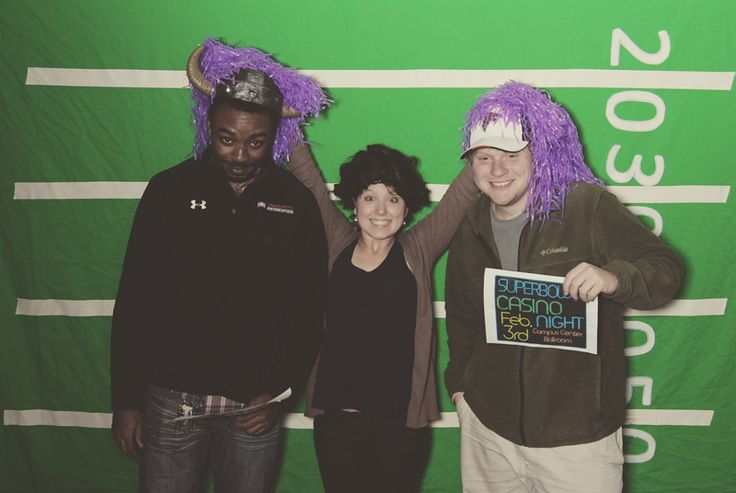 West Georgia Photo Booths – UWG Superbowl Party – Famous William Company
