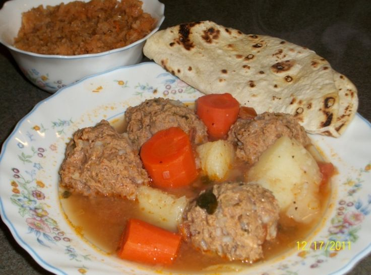 Albondigas (mexican meatball soup) | Recipe