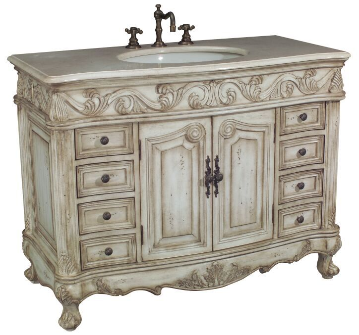 French Country Bathroom Vanities: 24 Best Images About Antique Bathroom Vanities On