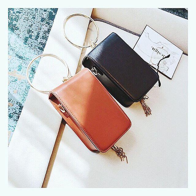 Black or Brown? #braceletbag #kattiva
