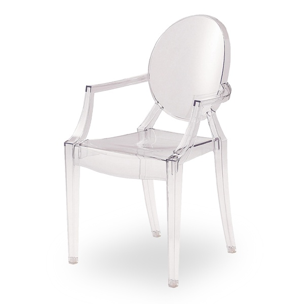 Kartell - 4853/B4 Louis Ghost stolac