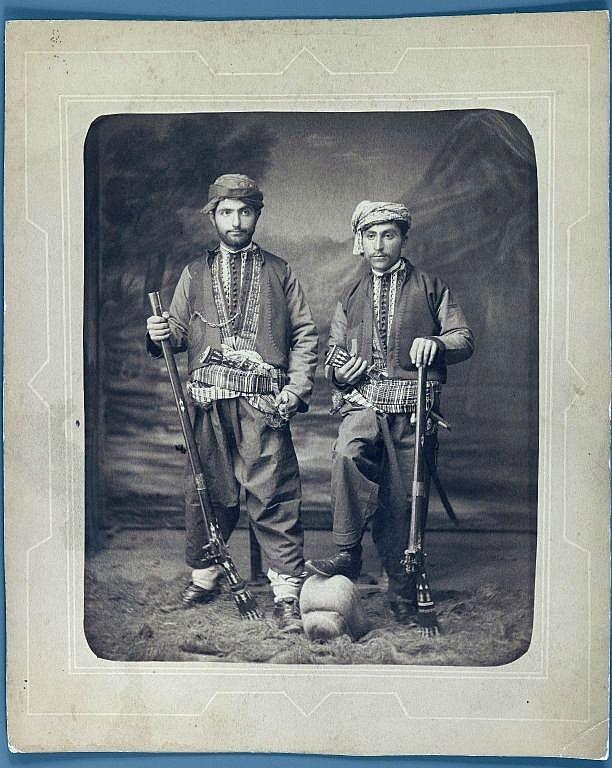 Kurds.  Late-Ottoman era, end of 19th century.