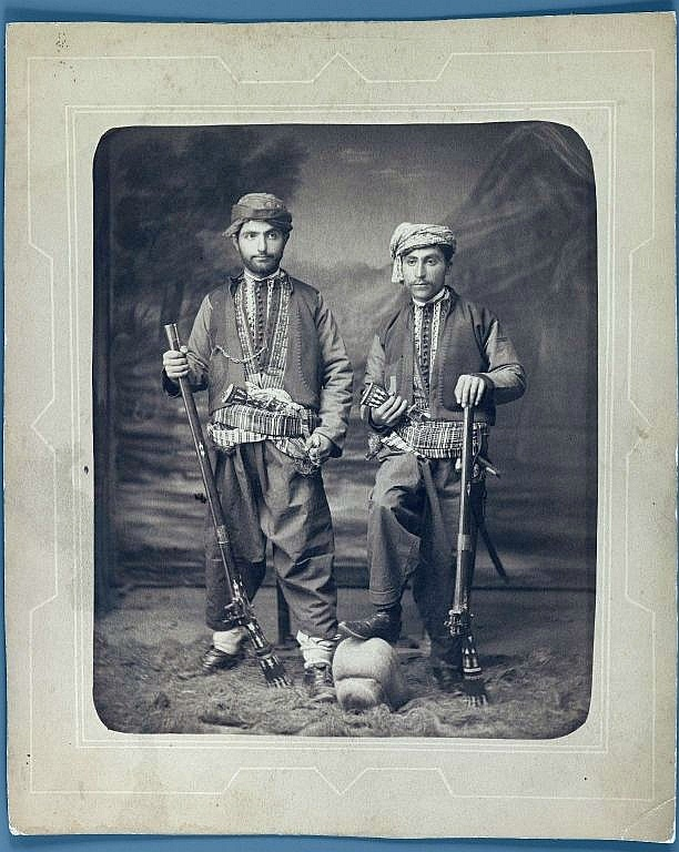 Kurds.  Late-Ottoman era, end of 19th century.