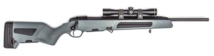 The Steyr Scout is the culmination of Jeff Cooper's concept of a light yet capable rifle. Shown equipped with a Leupold Scout Scope. Image courtesy of the manufacturer.