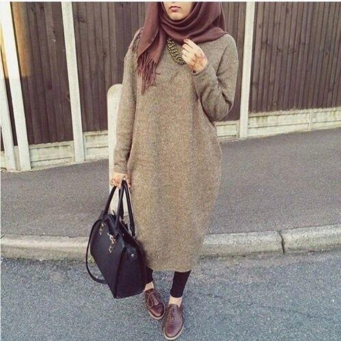 Image de hijab and bag