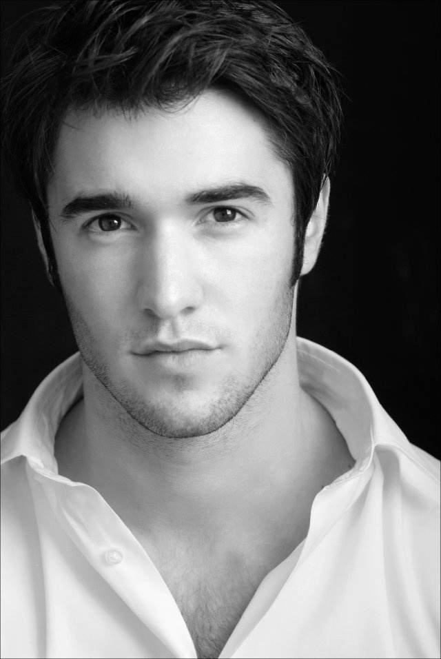Handsome = Joshua Bowman who plays Daniel Grayson on ABC's Revenge.