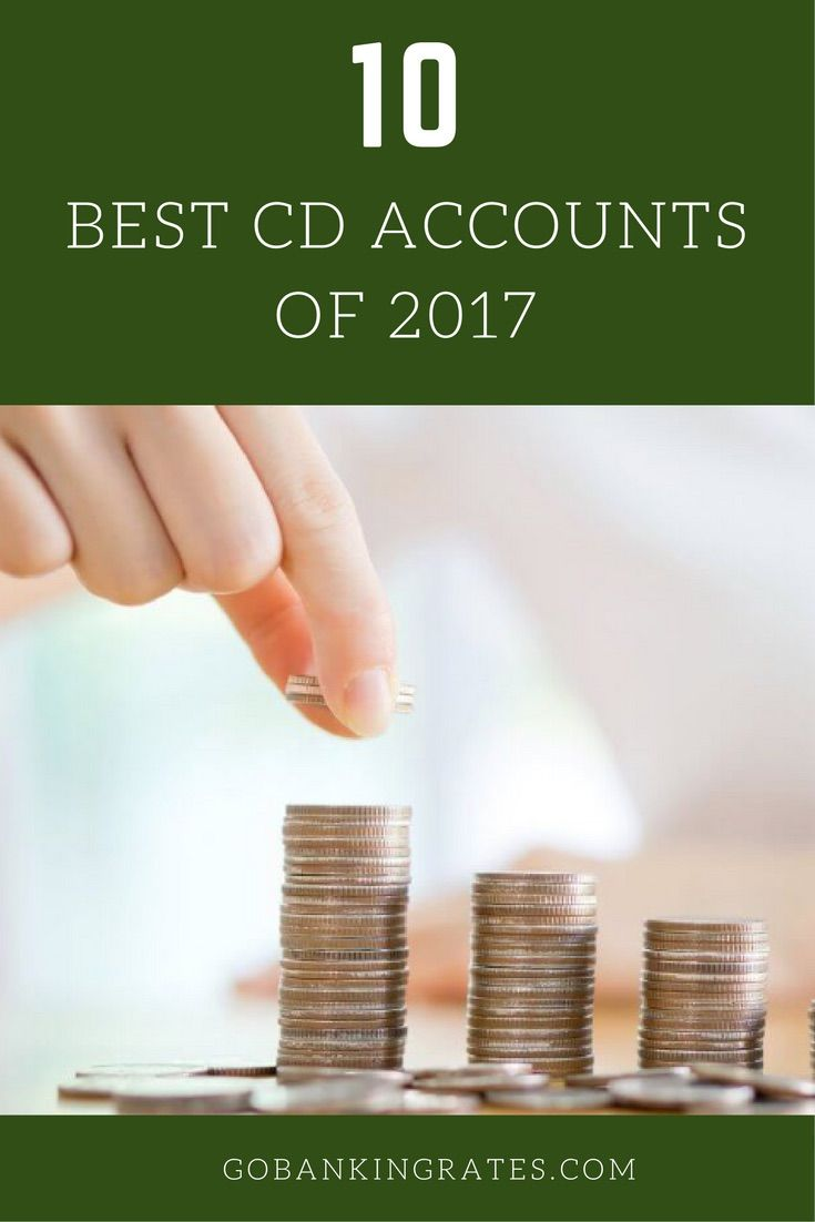 If you want the best CD rates available, pick from this list.
