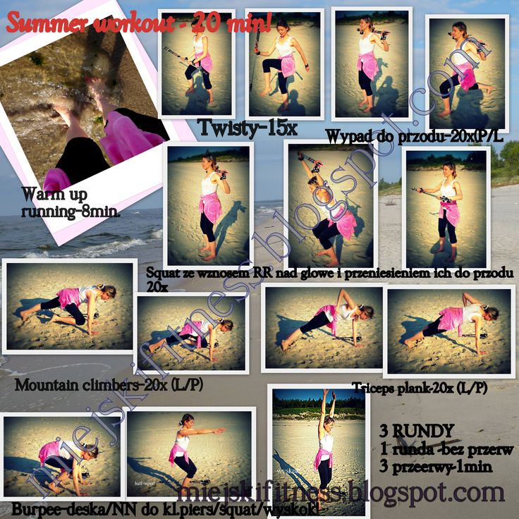Summer workout - crossfit + nordic walking