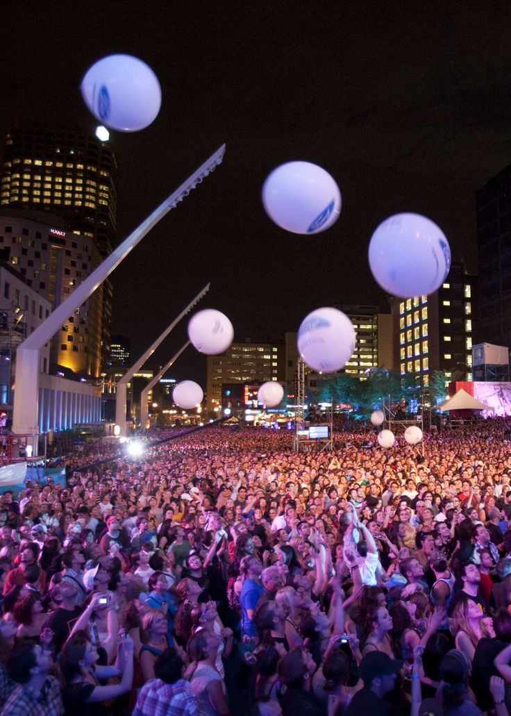 FrancoFolies: the biggest music festival in the French-speaking world! #Montreal