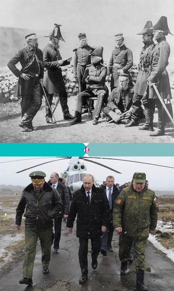 Rusland in de Krim? Oud nieuws. Vandaag is het precies 160 jaar geleden dat de Krimoorlog uitbrak. Rusland stapte binnen zogenaamd om de Oosters-Orthodoxe Russen te beschermen, de Europese grootmachten hadden hun eigen agenda's. Laten we hopen dat de situatie in 2014 beter afloopt dan in 1854, toen Frankrijk, Engeland en Rusland zich op elkaar stukbeten voor een klein schiereiland dat nergens om had gevraagd. Meer op www.ifthenisnow.nl