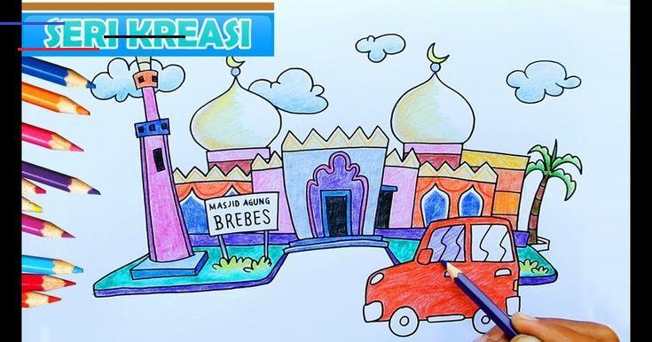 32 Gambar Kartun Anak Tpa Top Gambar Kartun Masjid Keren Design