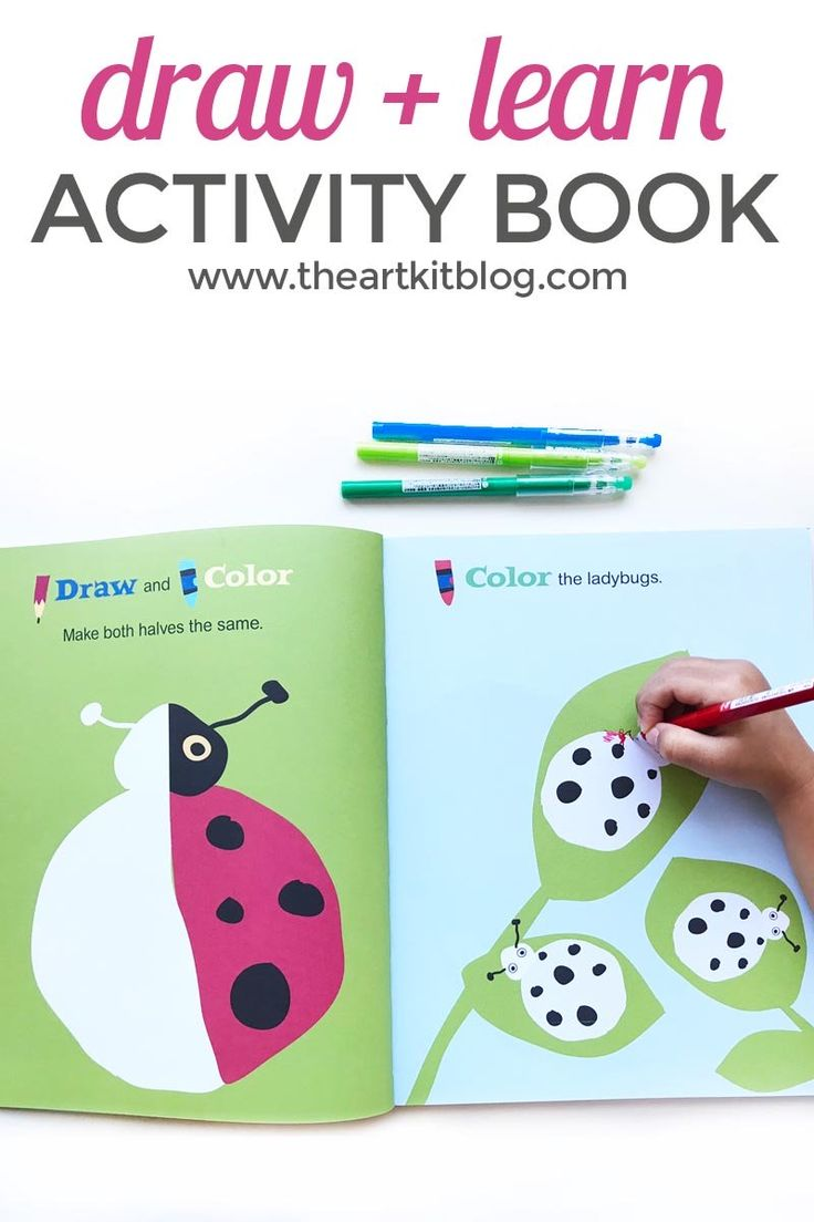 Fantastic fun book to color - Draw And Learn Animals And Places Activity Book Review