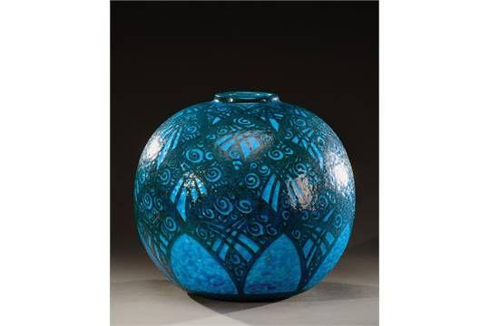 1682 best images about art deco porselein aardewerk - Objet deco bleu turquoise ...