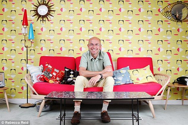Better by design: Wayne Hemingway at his home in Chichester