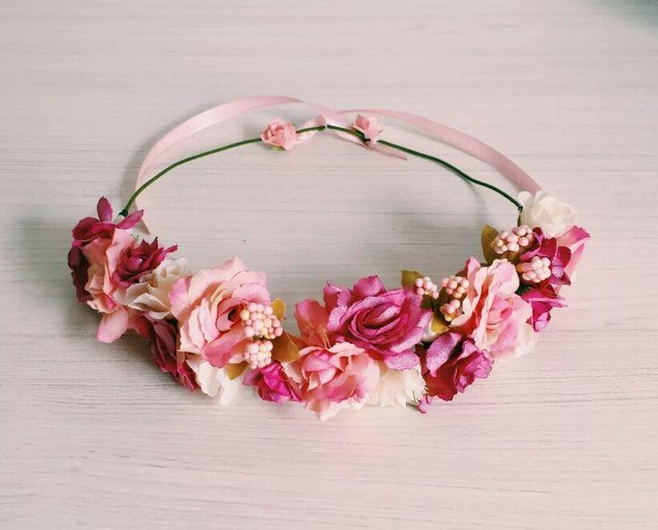 Suficiente 116 best Tiaras de Flores images on Pinterest | Floral crowns  NA21