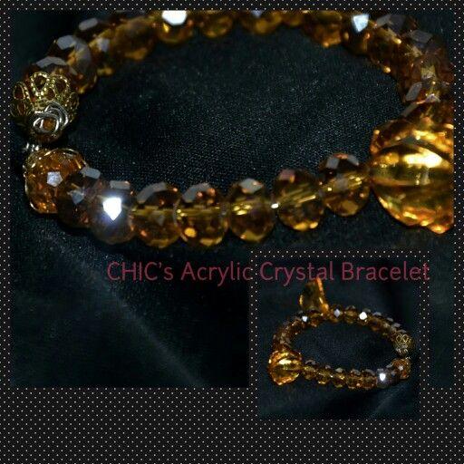 Acrylic Crsytal Bracelet