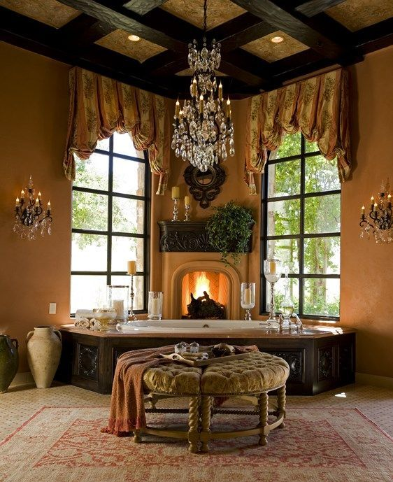 Interior & Exterior Design Studio - Results | SB Design AZ-- A little too grandiose overall but I like the the style/coloring