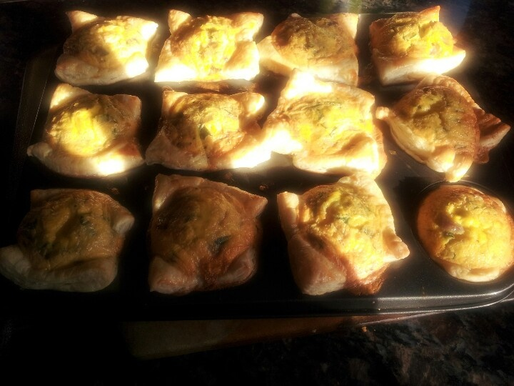 Prawn quiches @ homemade