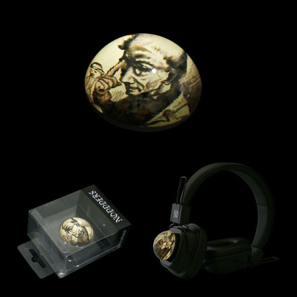 Headphones with attachable glass domes  ------ #subculture #victorian #steampunk #retro #dark #creepy #vintage #comics #cartoon #characters #alternative #underground #collection #collectibles #style #stylish #anime #music #headphones #glassdomes