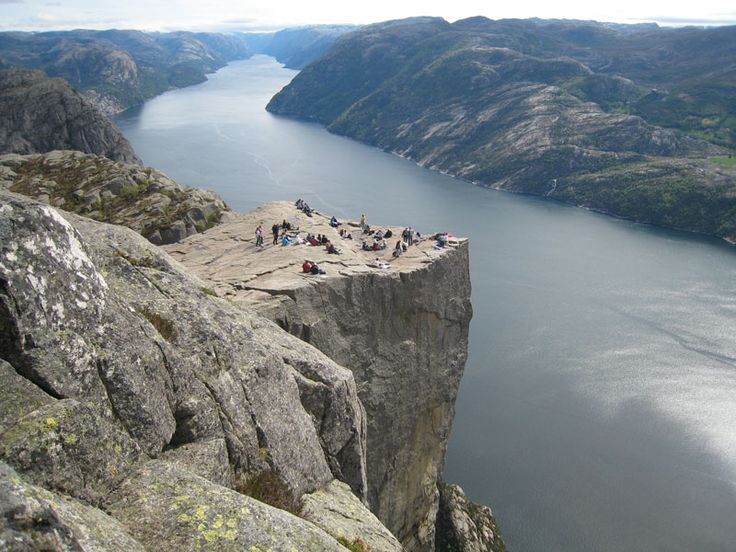 Preikestolen, Lysefjord in Norway