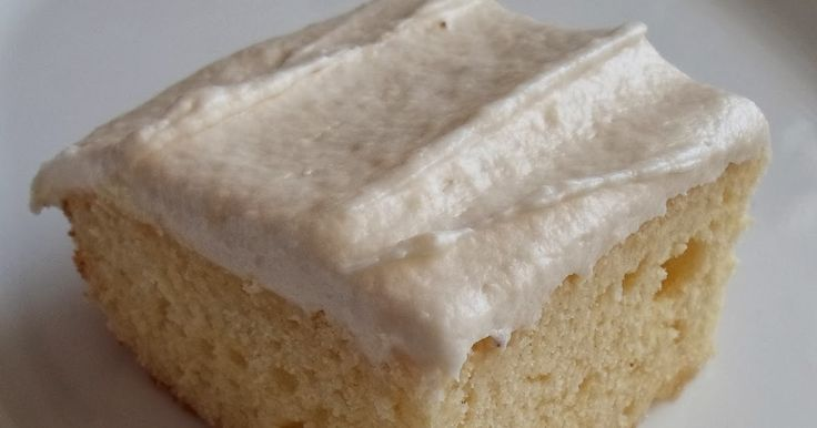 """I had one lonely banana and a hankering for something sweet... This 8"""" Butter Cake with Banana Butter Frosting  tastes great! I love cakes t..."""