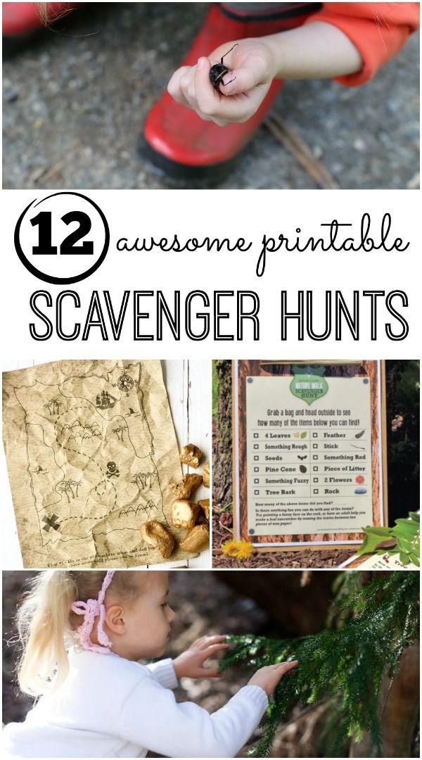 best 25  scavenger hunts ideas on pinterest