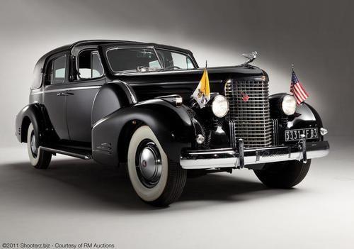 1938 Cadillac Series 90 V16 Fleetwood Town Car