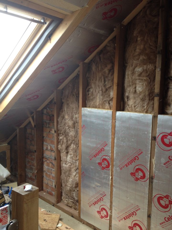 Insulation Time 150mm In 2019 Loft Conversion Bedroom