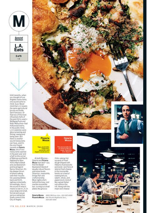 men s magazines gq details esquire have superior spreads on food and restaurants