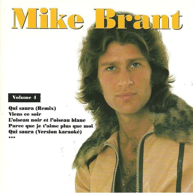 mike brant vol 4 (qui saura,viens ce soir,my prayer... CD