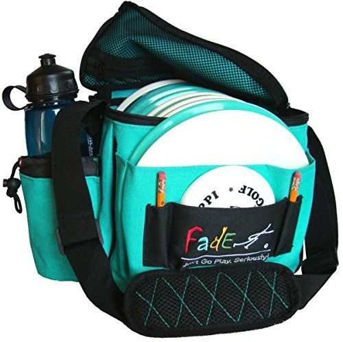 Fade Gear Lite Disc Golf Bag, 12 Discs, 2 Putters, Teal