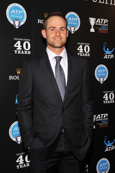 Andy Roddick - Players And Legends Arrive At ATP Heritage Celebration