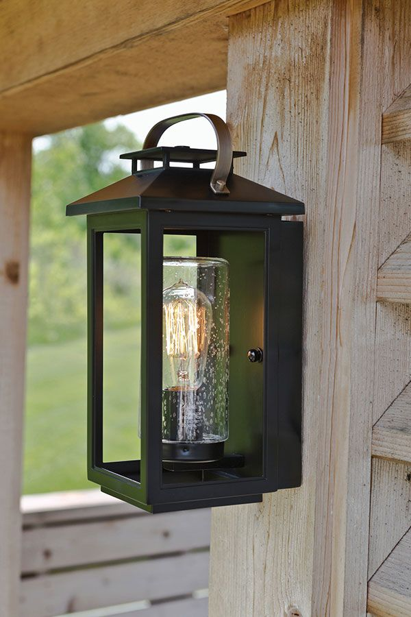 Hinkley Atwater Black 14 Inch One Light Outdoor Wall Sconce 1160bk
